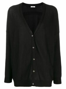 P.A.R.O.S.H. V-neck cardigan - Black