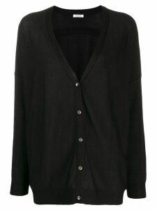 P.A.R.O.S.H. V-neck cardigan - Black