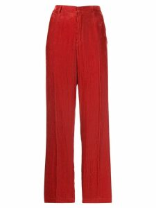 Forte Forte high-waisted trousers - Red
