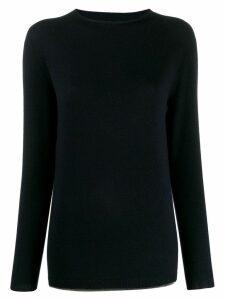 Fabiana Filippi roll-neck sweatshirt - Blue