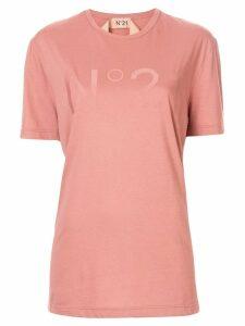 Nº21 logo printed T-shirt - Pink
