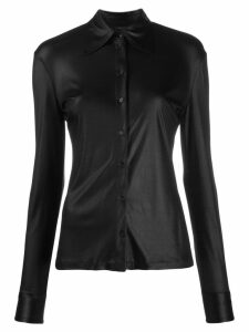 Pinko long-sleeve fitted shirt - Black
