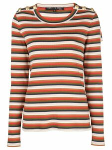 Veronica Beard striped sweatshirt - Red