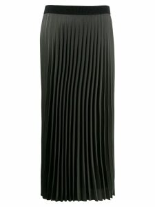 Moncler long pleated skirt - Green