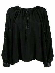 John Richmond Hunter blouse - Black