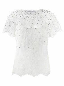 Ermanno Scervino embellished blouse - White