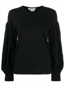 Comme Des Garçons Comme Des Garçons wide sleeves top - Black