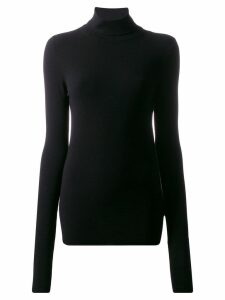 Dondup fitted turtleneck jumper - Black
