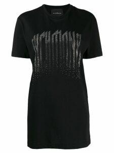 John Richmond studded logo t-shirt - Black