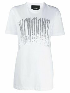 John Richmond studded logo t-shirt - White