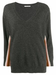Chinti & Parker v-neck jumper - Grey
