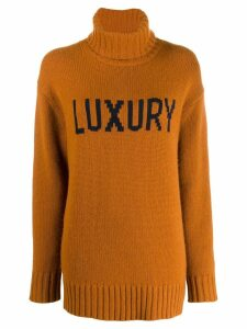 Chinti and Parker roll neck jumper - Brown