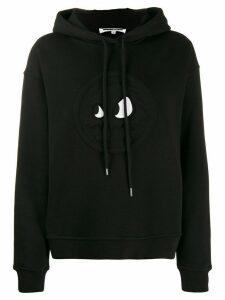 McQ Alexander McQueen monster code hoodie - Black