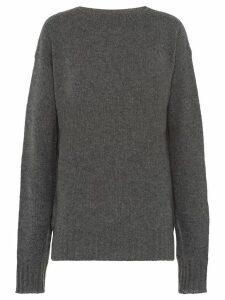 Prada relaxed cashmere jumper - Grey