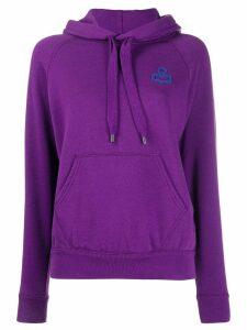 Isabel Marant Étoile Malibu hoodie - Purple