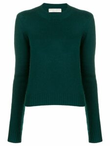 Bottega Veneta cropped knitted sweater - Green