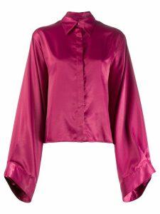 Mm6 Maison Margiela wide sleeve blouse - PINK