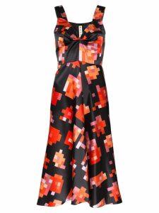 Marni pixel print midi dress - Black