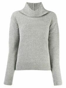 Fabiana Filippi roll neck jumper - Grey