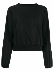 Fabiana Filippi round neck jumper - Black