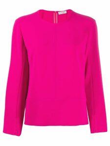 Alberto Biani slit cuff blouse - PINK