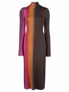 Ellery tie dye effect dress - Black