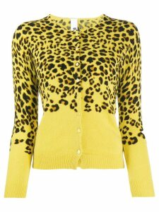 Ultràchic leopard print cardigan - Yellow