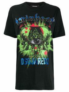 Dsquared2 logo print T-shirt - Black