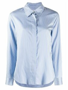 Alberto Biani striped button shirt - Blue