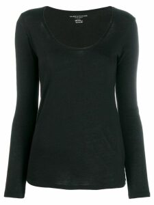 Majestic Filatures round neck jumper - Black
