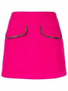 Harvey Faircloth high waisted mini skirt - PINK