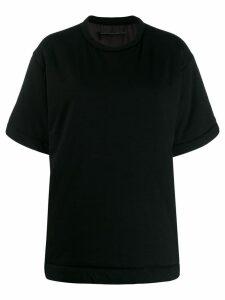 Mm6 Maison Margiela padded T-shirt - Black