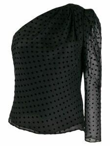 IRO Coatli asymmetric top - Black