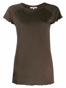 Nili Lotan short-sleeve fitted top - Green