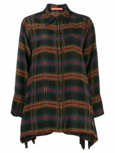 Smarteez check print shirt - Green