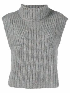 Isabel Marant Étoile Megan knitted top - Grey
