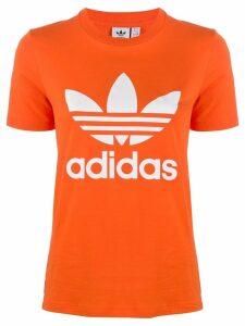adidas Adidas Originals Trefoil logo T-shirt - ORANGE