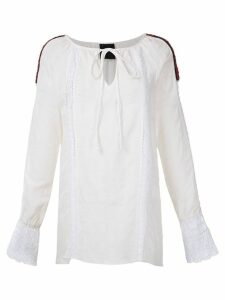 Andrea Bogosian Ponto Couture embroidered dress - White