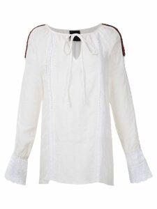 Andrea Bogosian Ponto Couture embroidered dress - White