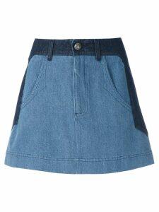 Andrea Bogosian Paky denim skirt - Blue