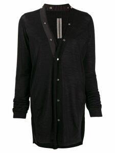 Rick Owens longline cardigan - Black