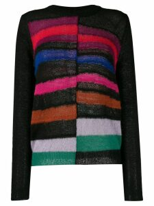 PS Paul Smith knitted striped jumper - Black