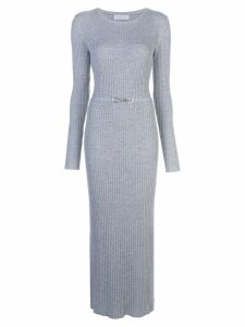 Gabriela Hearst rib knit dress - Grey