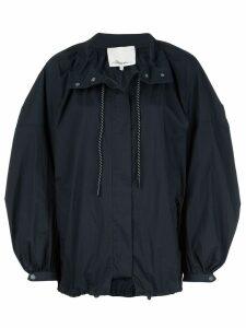 3.1 Phillip Lim oversized parka coat - Blue