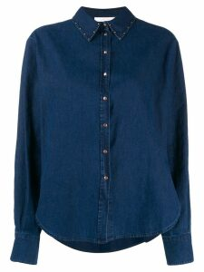 See By Chloé studded shirt - Blue