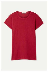 rag & bone - The Tee Pima Cotton-jersey T-shirt - Red