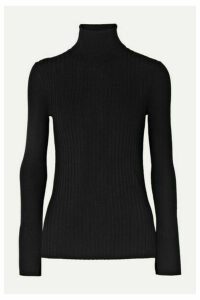 Alex Mill - Ribbed Wool-blend Turtleneck Sweater - Black