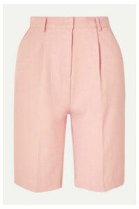 Frankie Shop - Julie Gabardine Shorts - Pink