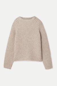 Envelope1976 - Seoul Ribbed Alpaca-blend Sweater - Beige
