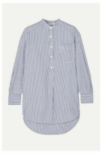 Alex Mill - Striped Cotton-poplin Shirt - White